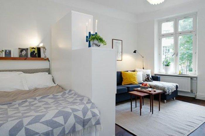 Eine Studio-Wohnung einrichten! Salon und Zimmer... 2 in 1! 20 Ideen...