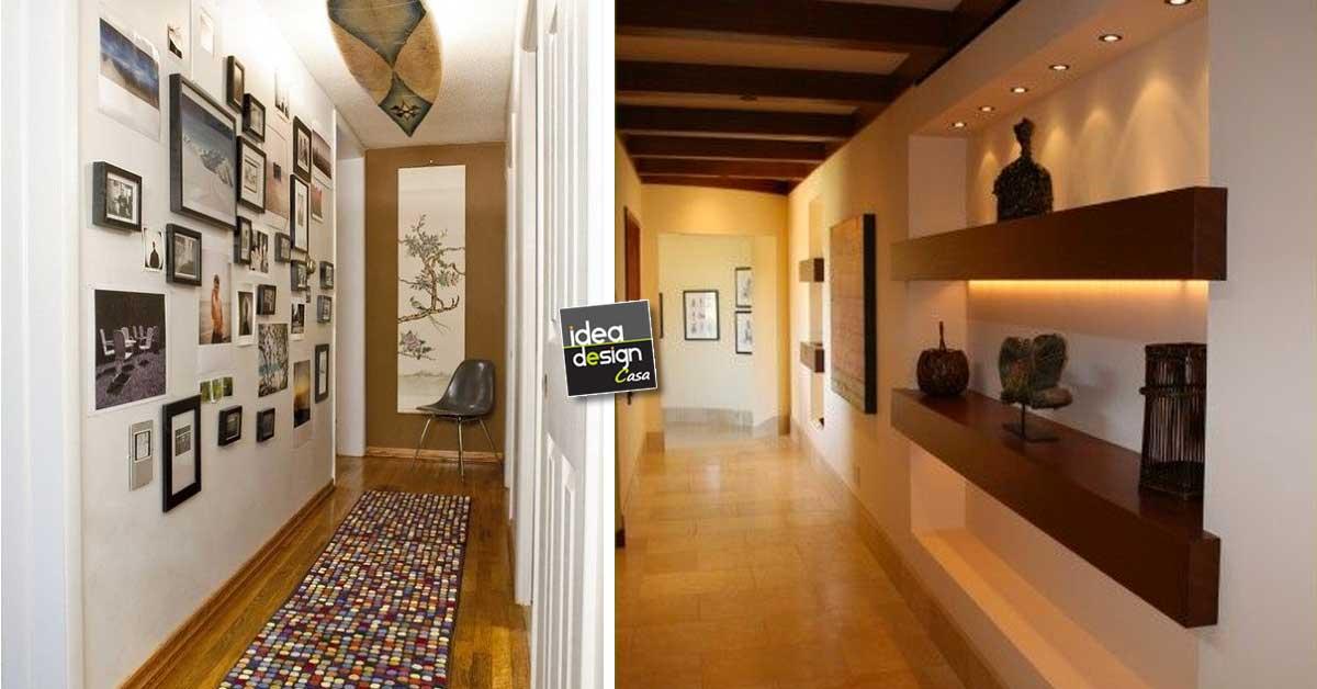 Decorare il corridoio ecco 20 idee da cui trarre for Arredare corridoio