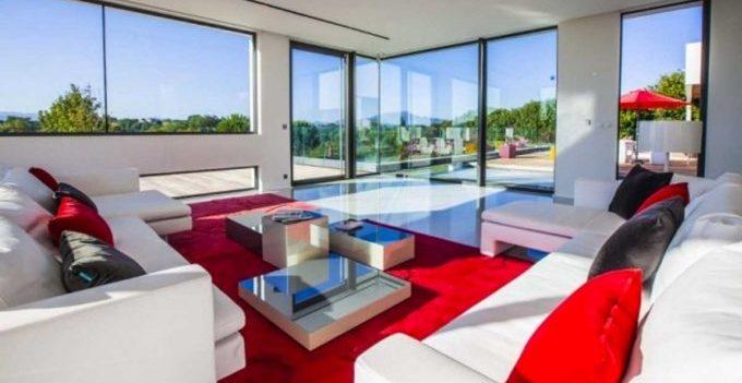 Ufficio Rosso E Bianco : Soggiorno rosso e nero idee per arredare con personalità