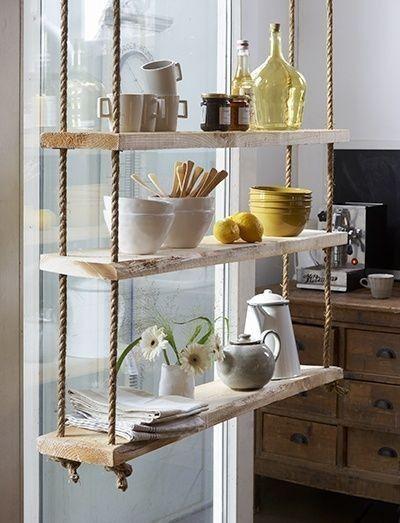 Ikea Mensole Sospese.Mensole Sospese Ecco 20 Idee Da Cui Trarre Ispirazione