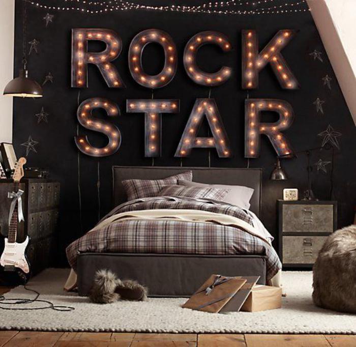 Scritte decorative in camera da letto ecco 20 idee for 20 piani di casa camera da letto