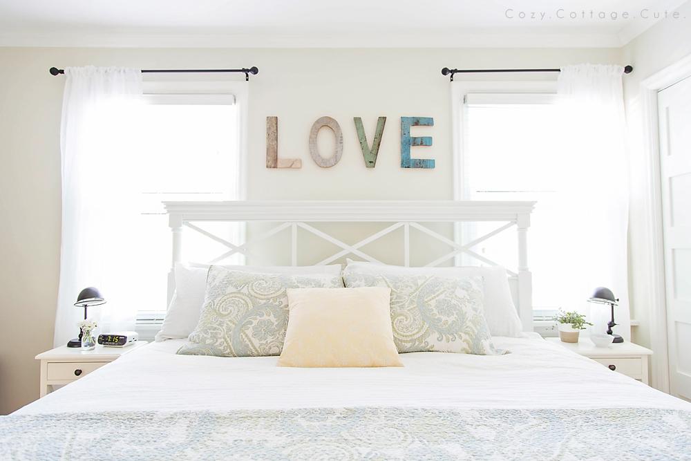 Scritte decorative in camera da letto ecco 20 idee - Idea camera da letto ...