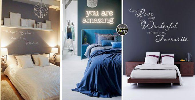 scritta-decorativa-camera-da-letto