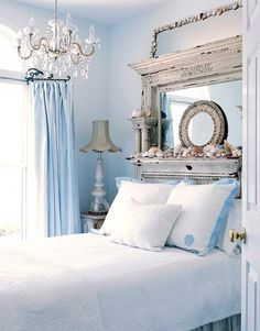 Shabby Décor With Light Blue Idea 2
