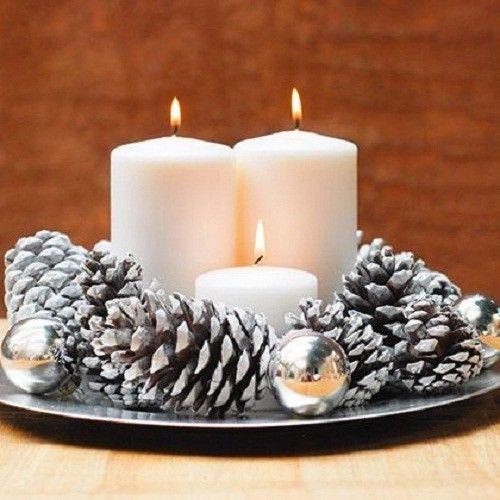 Decorazioni natalizie con le candele ecco 20 fantastiche - Decorazioni natalizie con candele ...
