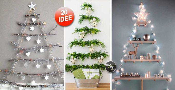 Un albero di natale alternativo ecco 20 bellissime idee - Idee x decorare l albero di natale ...