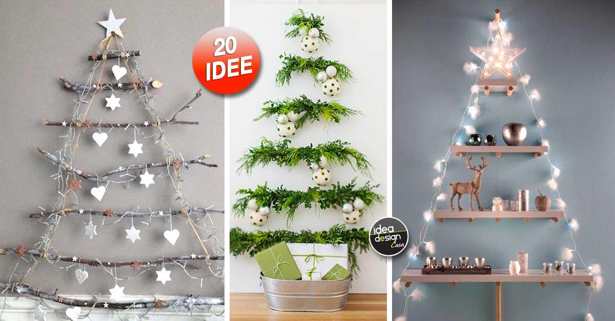 Alberi Di Natale Fai Da Te Originali.Un Albero Di Natale Alternativo Ecco 20 Bellissime Idee