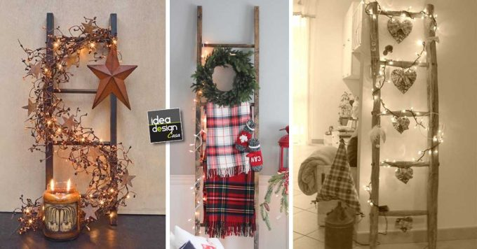 Decorare una scala per natale ecco 20 idee creative for Decorare soggiorno natale