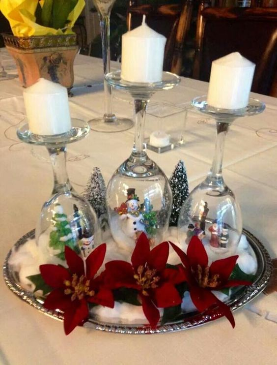 Decorating Wedding Glasses For Bride And Groom