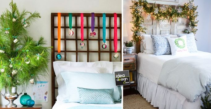 Idee per arredare la camera da letto for Decorare ufficio natale