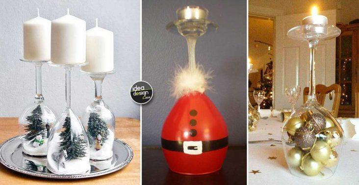 Sistemare la legna in giardino ecco 20 idee fai da te per for Composizioni natalizie in vasi di vetro
