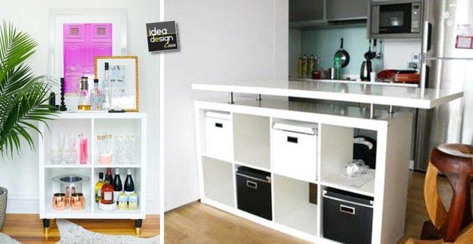 Ikea Organizzazione Ufficio : Usare gli scaffali ikea in modo originale idee
