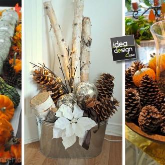 Decorazioni natalizie in legno lasciatevi ispirare 20 - Decorazioni invernali fai da te ...