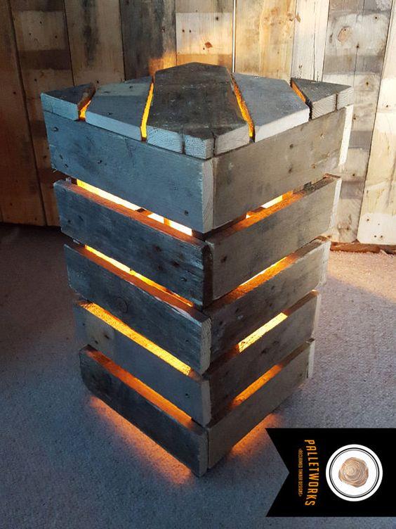 Lampade E Lampadari Con I Pallet Ecco 20 Idee A Cui