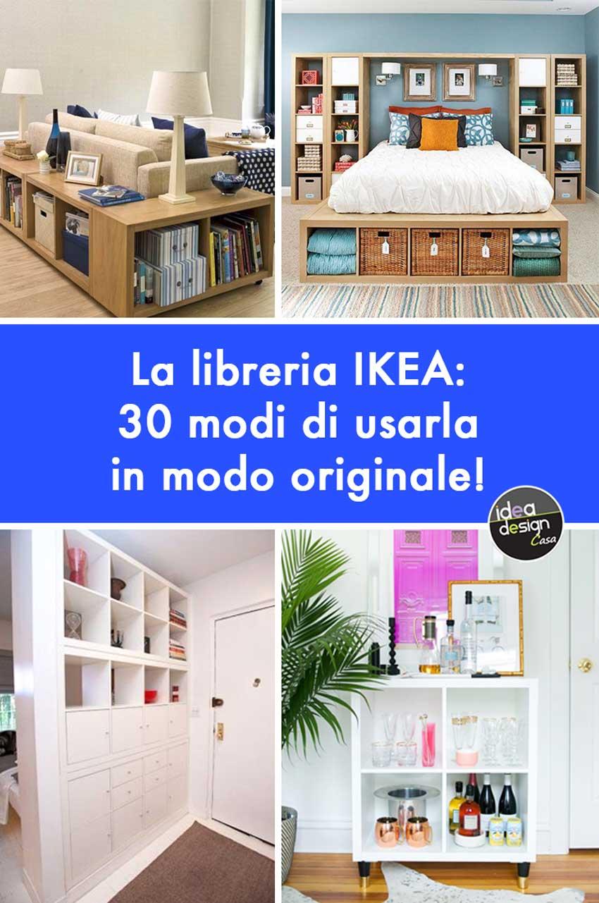 Come Allestire Una Libreria libreria ikea: ecco 30 modi di utilizzarla in modo originale