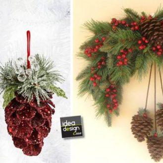 Abbinare legno nel salone 20 idee per arredare il salone - Pigne decorate natalizie ...