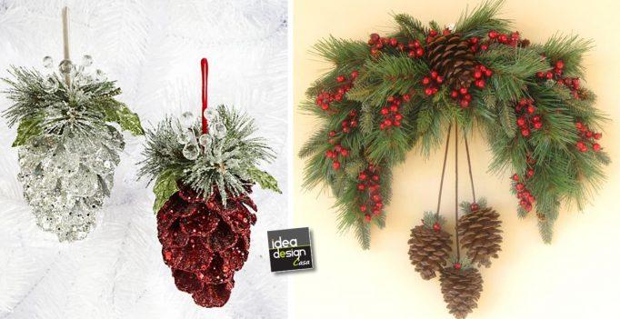 Decorazioni natalizie con le pigne ecco 20 idee - Decorazioni natalizie pigne ...