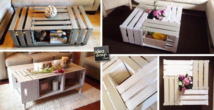 Tavolini da salotto fai da te idea creativa della casa e for E design della casa