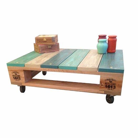 Tavolini Pallet : Tavolini con bancali molto originali idee lasciatevi