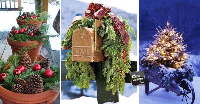 Immagini Natale Trackid Sp 006.20 Decorazioni Esterne Per Natale Lasciatevi Ispirare