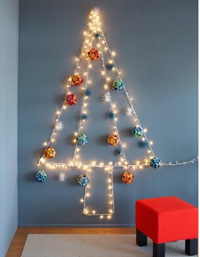 Un albero di luce per Natale