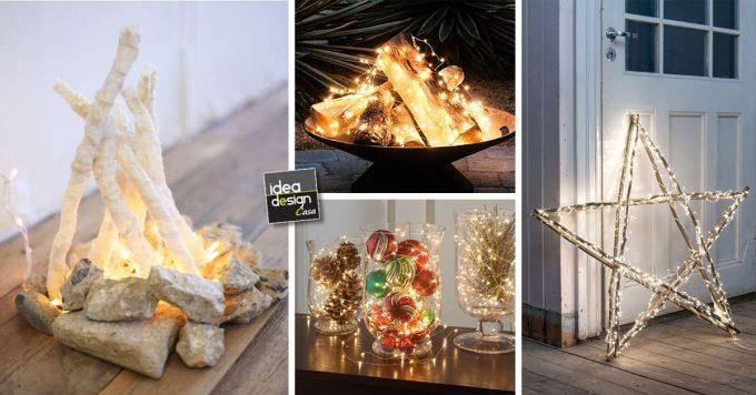 Decorazioni Luminose Natalizie.Ecco 20 Bellissime Composizioni Luminose Per Natale Ispiratevi Tutorial