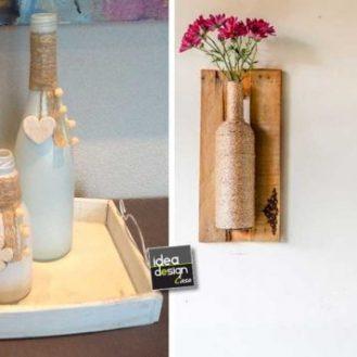 decorazione-bottiglie-con-spago-e-corda