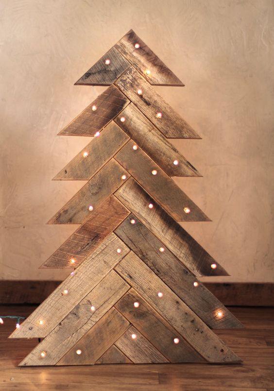 Decorazioni natalizie in legno lasciatevi ispirare 20 idee - Decorazioni legno ...