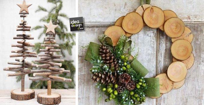 Decorazioni In Legno Natalizie : Decorazioni natalizie in legno lasciatevi ispirare idee