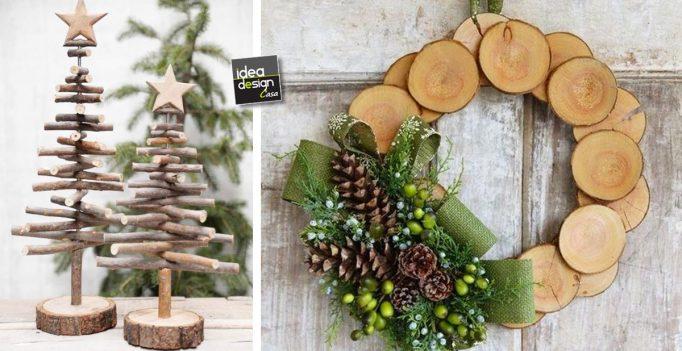 Decorazioni natalizie in legno lasciatevi ispirare 20 - Decorazioni natalizie per la porta di casa ...