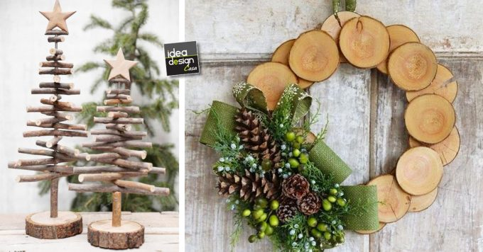 Decorazioni natalizie in legno lasciatevi ispirare idee