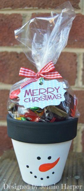 vasi terracotta decorazioni fai da te : Decorazioni natalizie fai da te con vasi di terracotta ? Idea n? 1