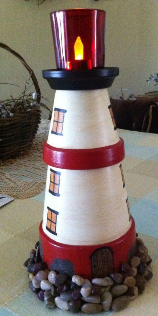vasi terracotta decorazioni fai da te : Decorazioni natalizie fai da te con vasi di terracotta ? Idea n? 9