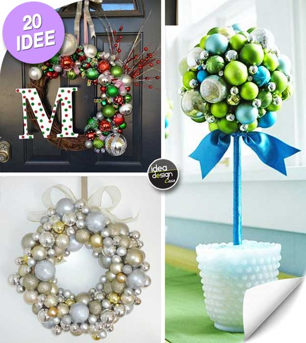 take a look at these beautiful decorations made of christmas ball ornaments really original n 10 11 and 14 ideas video tutorial other ideas are there