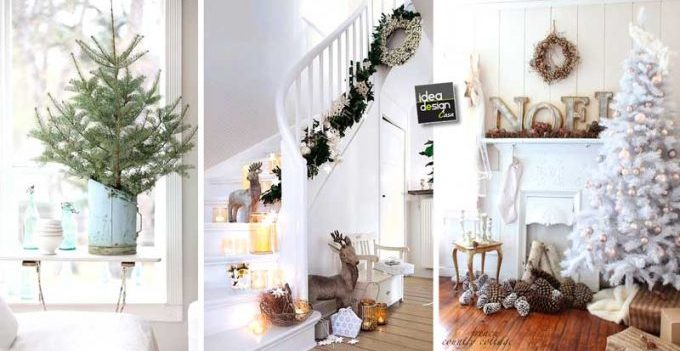 Decorare il natale in stile shabby chic 20 idee per for Stile shabby chic casa