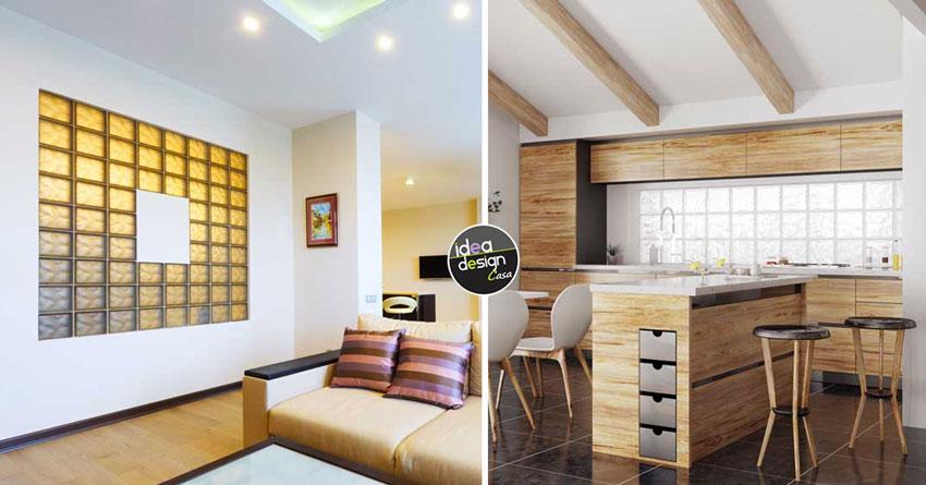 Vetrocemento 25 idee luminose per le pareti di casa con i for Idea design casa