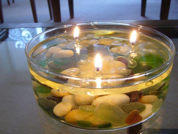 realizzare una candela che non si consuma