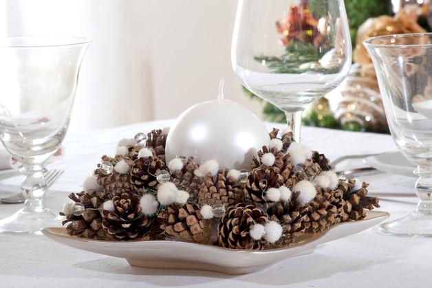 Centrotavola con le pigne ecco 20 idee lasciatevi ispirare - Pacchetti natalizi fai da te ...