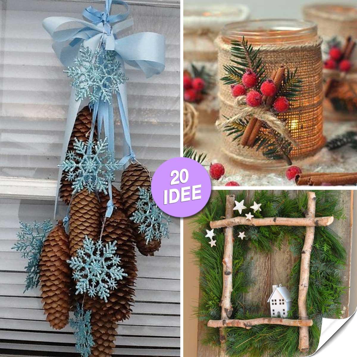 Idee Creative Per Natale decorazioni natalizie originali! ecco 20 idee lasciatevi