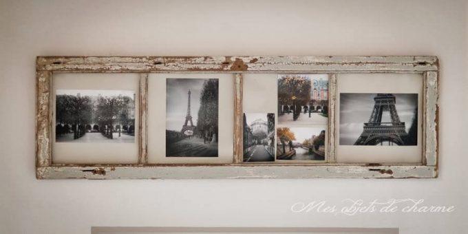 Trasformare una vecchia finestra in un portafoto
