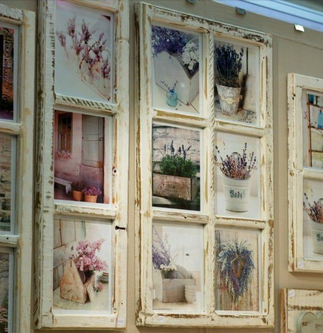 Trasformare Una Vecchia Finestra In Un Portafoto Molto