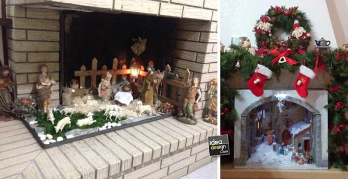 Create The Christmas Crib In Fireplace 15 Beautiful Examples