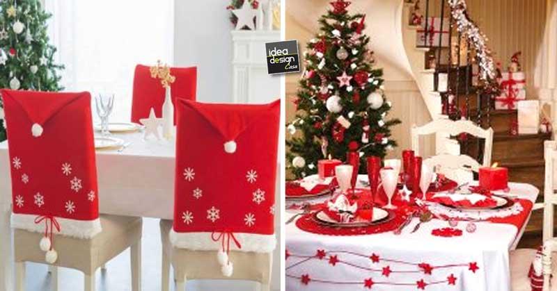Decorazioni tavola di natale in rosso e bianco 20 idee - Decorazioni tavola natale ...