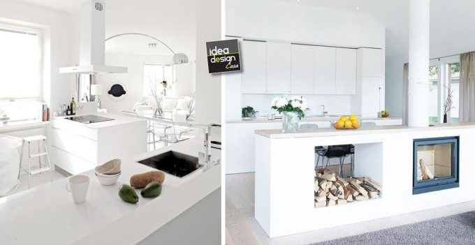 White kitchen ... 20 inspirational examples!