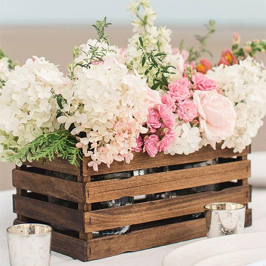 Matrimonio In Wedding : Decorare un matrimonio con cassette di legno ecco idee