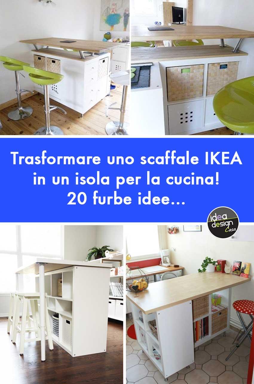 Ikea Cucine Con Isola Prezzi trasformare uno scaffale ikea in un isola per la cucina! 20