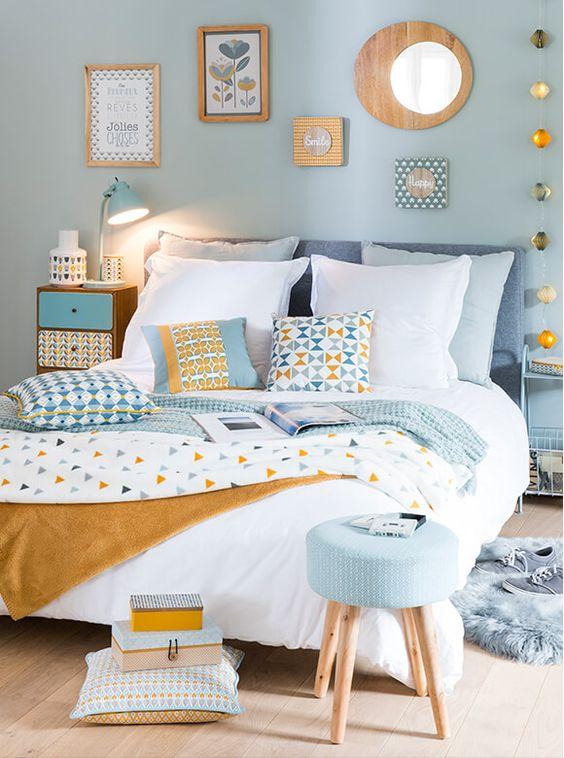 Camera da letto con colori pastello ecco 20 idee per ispiravi - Idee colori camera da letto ...