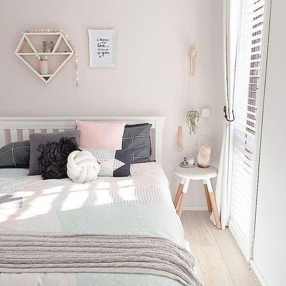 Camera da letto con colori pastello ecco 20 idee per - Idee colori camera da letto ...