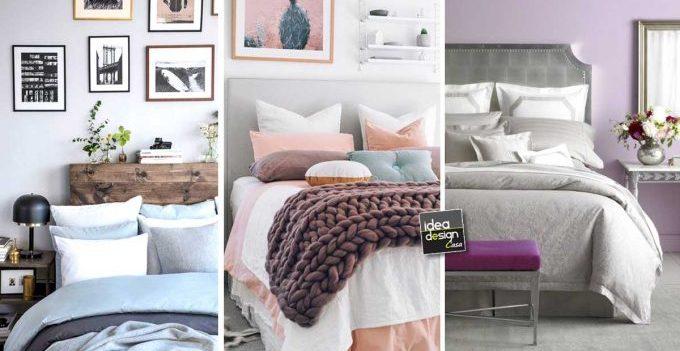 Idee Per Decorare La Camera : Camera da letto con colori pastello ecco idee per ispiravi
