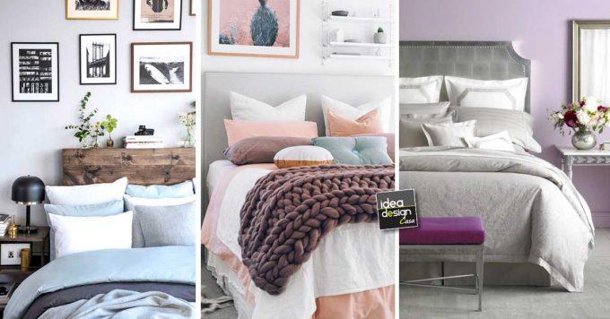 Camera da letto con colori pastello ecco 20 idee per - Colori camera da letto 2017 ...